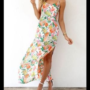 Sabo Skirt Floral Maxi Dress